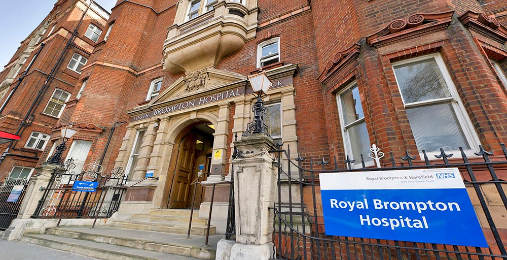 South Block of the Royal Brompton hospital in London